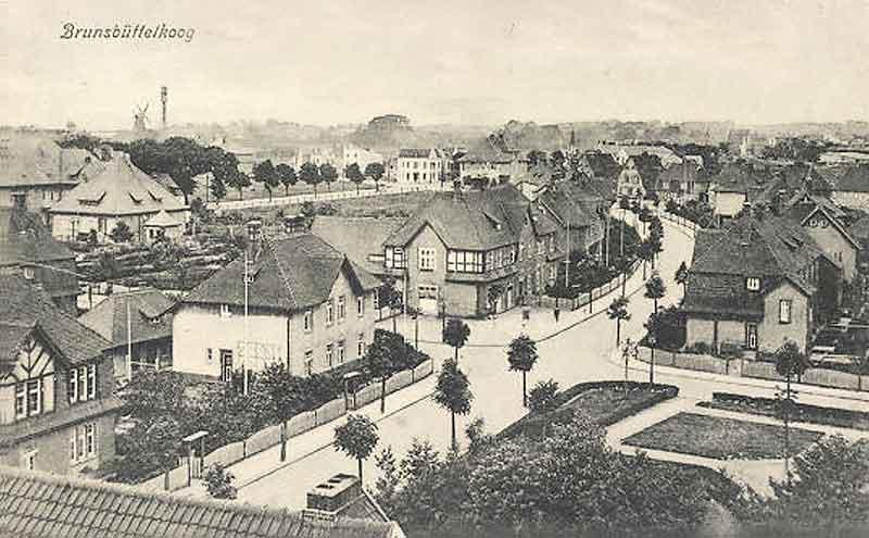 Historisches Foto von Brunsbüttel